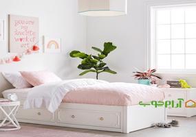 تخت خواب نوجوان مدل 522