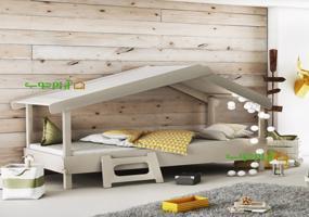 تخت خواب کودک و نوجوان مدل شروین