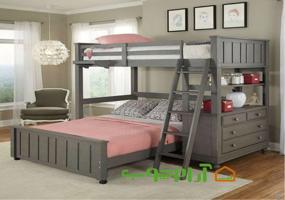 تخت دو طبقه مدل 709